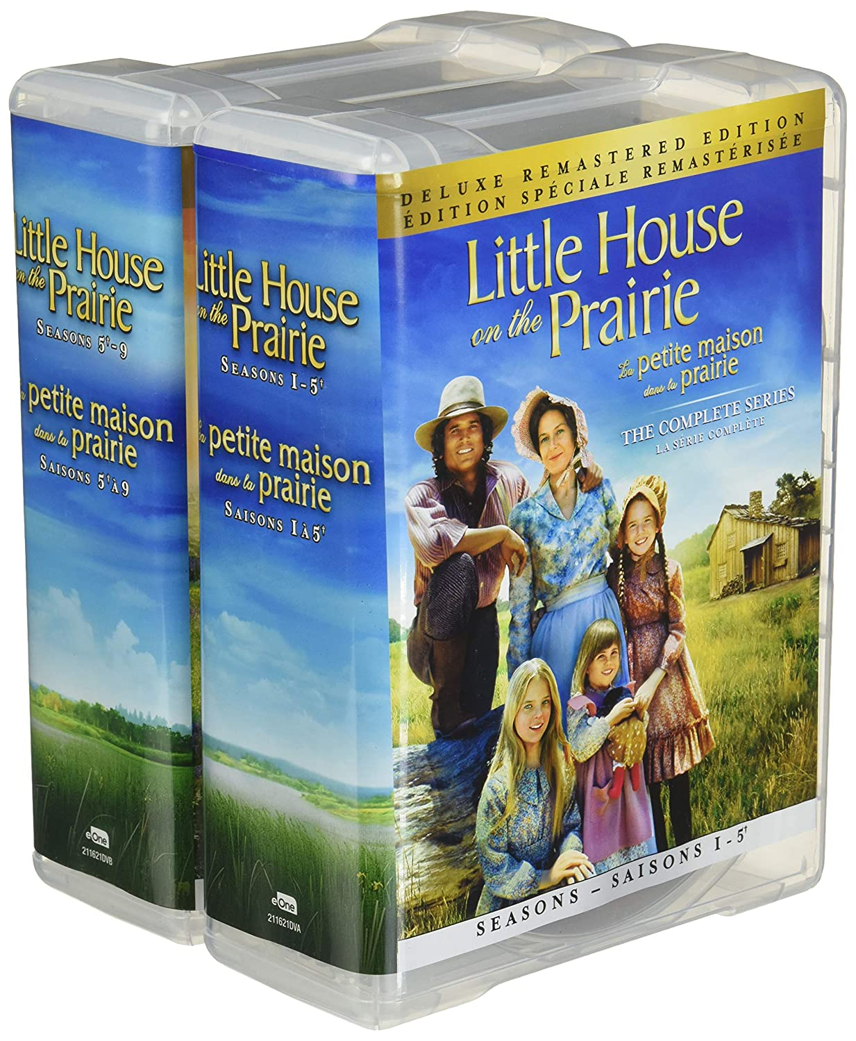Amazon Com Little House On The Prairie The Complete Series Deluxe Remastered Edition Movies Tv