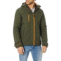 Jack & Jones Jcobruce Jacket Erkek Dış Giyim, Yeşil (Asker Yeşili 19-0414 Tcx), S (Üretici Ölçüsü: S)