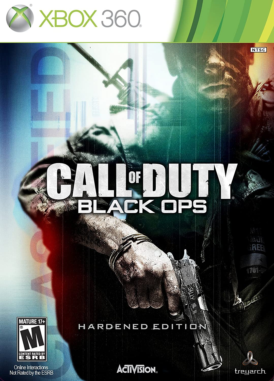 Amazon Com Call Of Duty Black Ops Hardened Edition Xbox 360