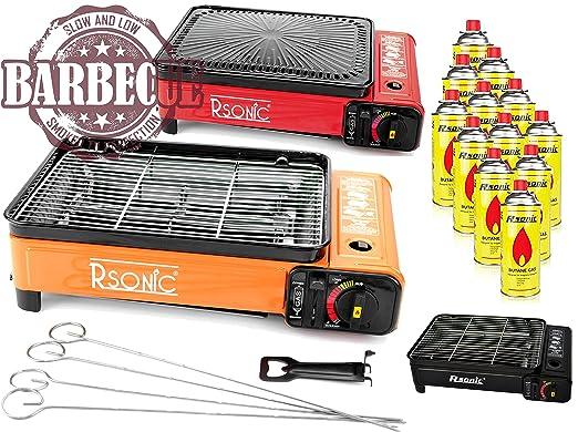 4 opinioni per XXL Cucina Camping Cucina gas Portable gas RS 4030-Griglia a gas Accendino a gas