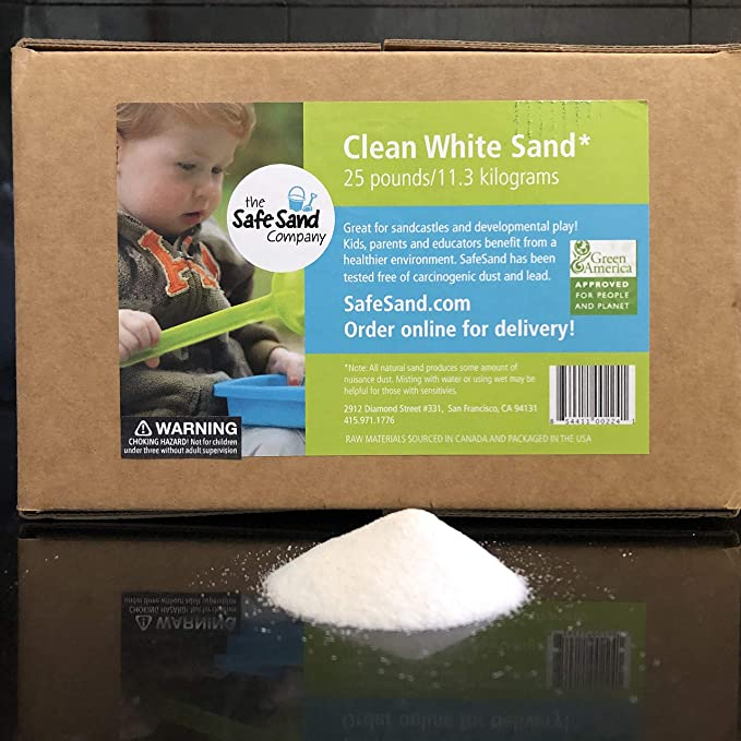 Play Sand 25kg Bag Sandpit Clean Childrens Non Toxic KID Safe NEXT DAY DISPACH