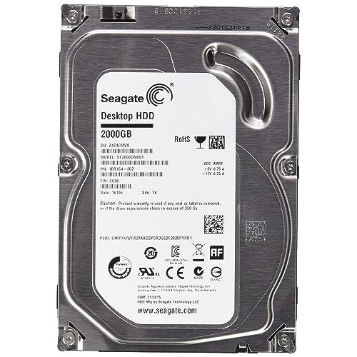 Seagate ST2000DM001 Desktop Disques Dur 2000 Go 3 5 Serial ATA