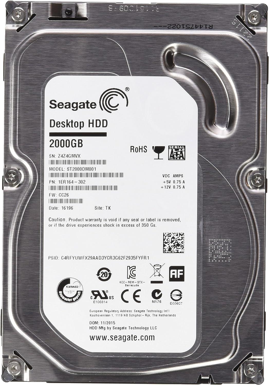 Seagate Desktop St2000dm001 Hdd 2 Tb Interne Festplatte Computer Zubehör