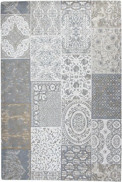 Green Decore Matrix - Alfombra (algodón, 120 x 170 cm), Color Gris ...