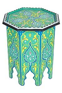 Marrakesch Orient Mesa Auxiliar Califa Verde