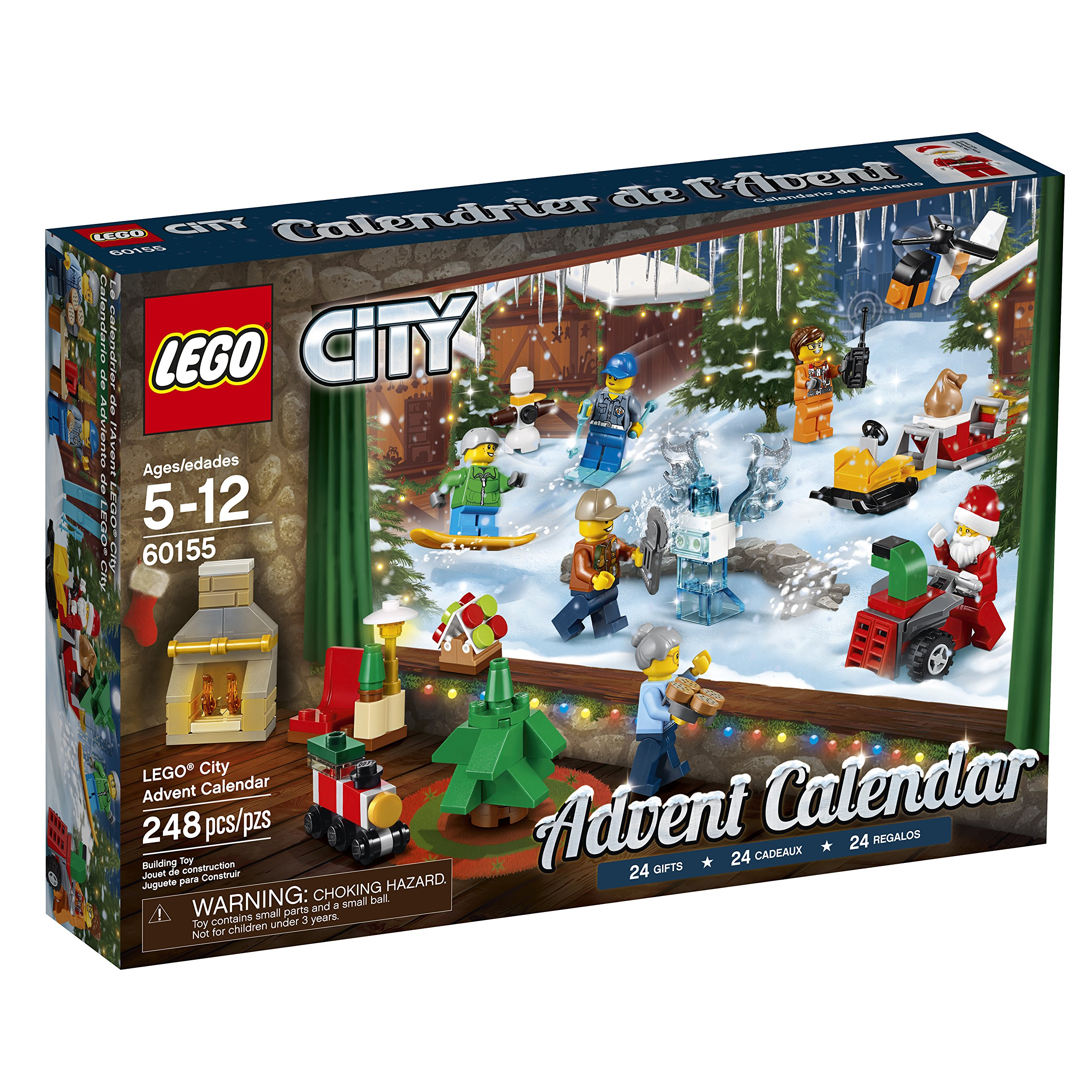 LEGO City Advent Calendar 60155 Building Kit 248 Piece