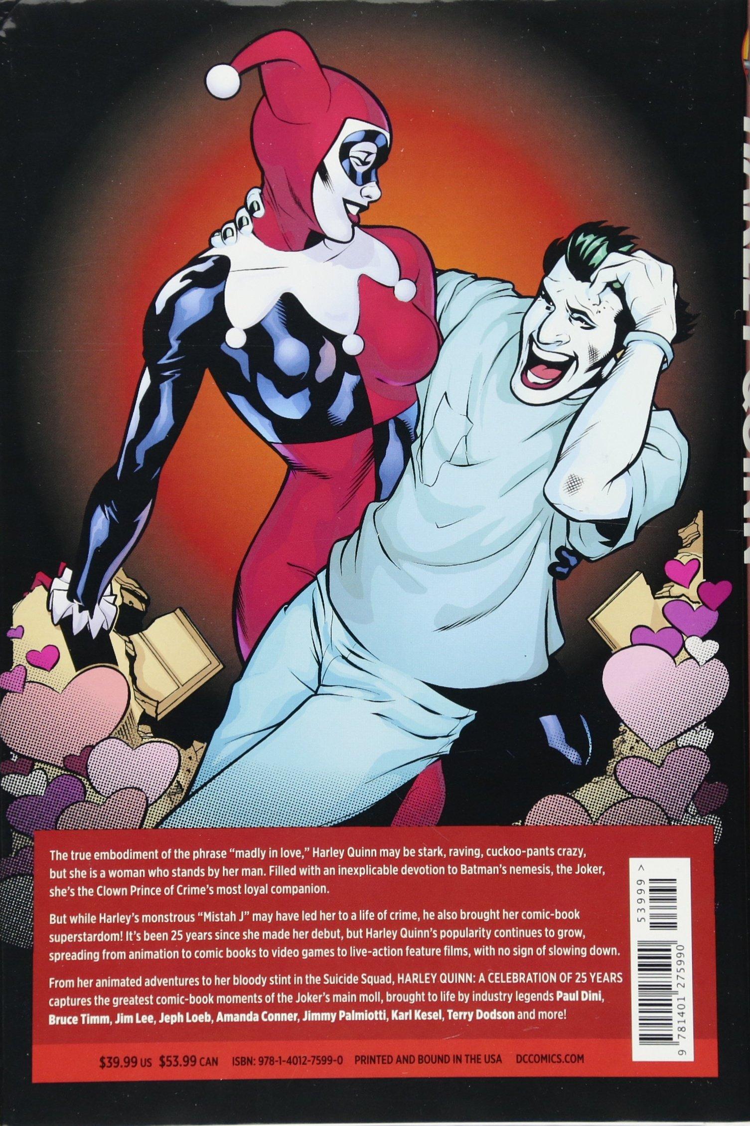Joker and harley quinn bruce timm