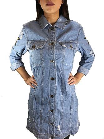 Oversized jeans jacke damen h&m