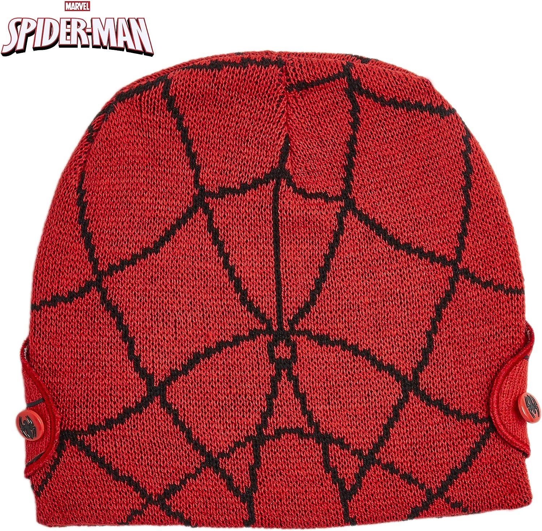 Marvel Hat and Glove Set Kids Winter Hats for Boys Beanie Kids Marvel Avengers Spiderman Gift Idea for Kids