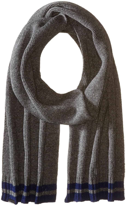 Ben Sherman Men's Placed Tipping Knit Scarf Black One Size Ben Sherman Headwear BS4959