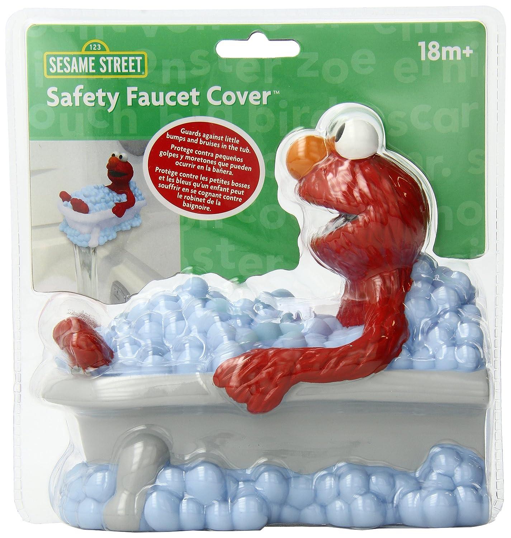Bath Spout Cover Sesame Street Elmo Baby Infant Toddler Bathtime ...