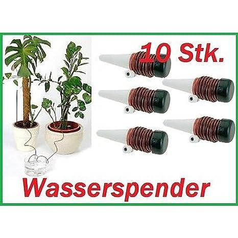 10 x de riego para plantas Sistema de Riego dispensador de agua vacaciones Pipeta