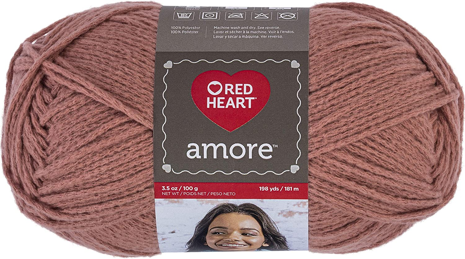 Red Heart 100/% Acrylic Soft Yarn for Home Décor Cozy Hats Scarves Wraps