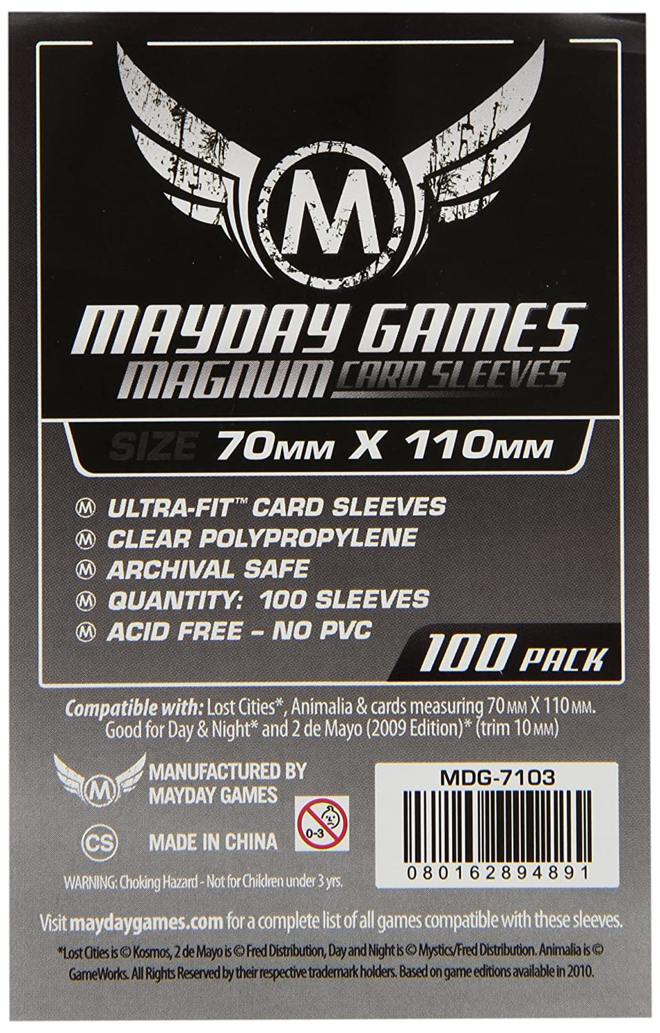 Mayday Games - Funda para Cartas coleccionables Lost (7103 ...