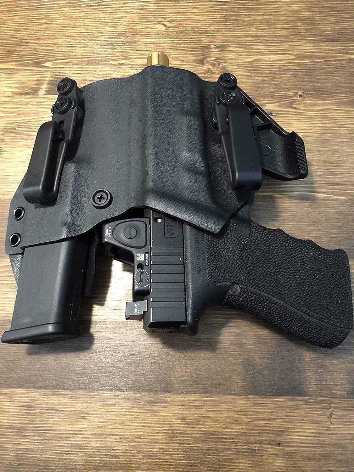 Amazon com : IronXHolsters Glock 19 23 32 17 26 IWB Appendix