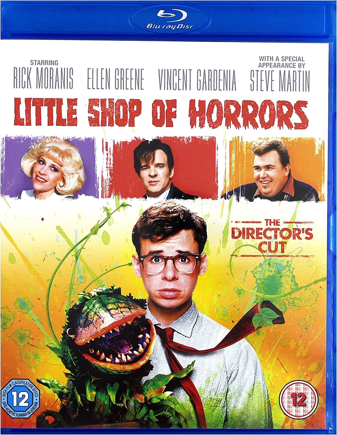 Little Shop Of Horrors Blu Ray 1986 Region Free Amazon Co Uk Rick Moranis Ellen Greene Steve Martin Frank Oz Rick Moranis Ellen Greene Dvd Blu Ray