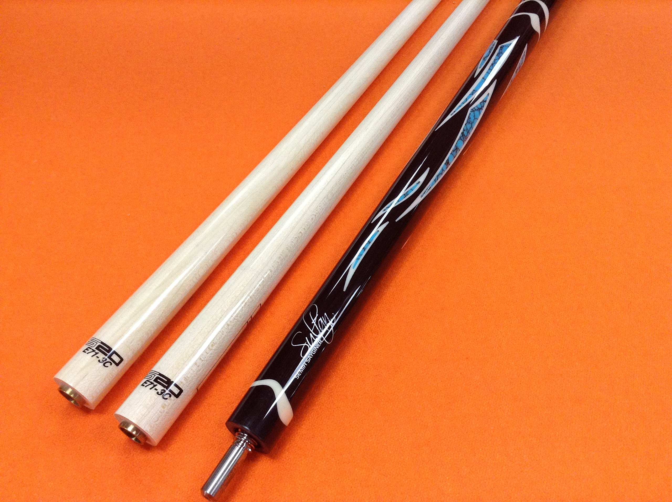 LONGONI CAROM CUE SULTAN WITH S20 SHAFTS