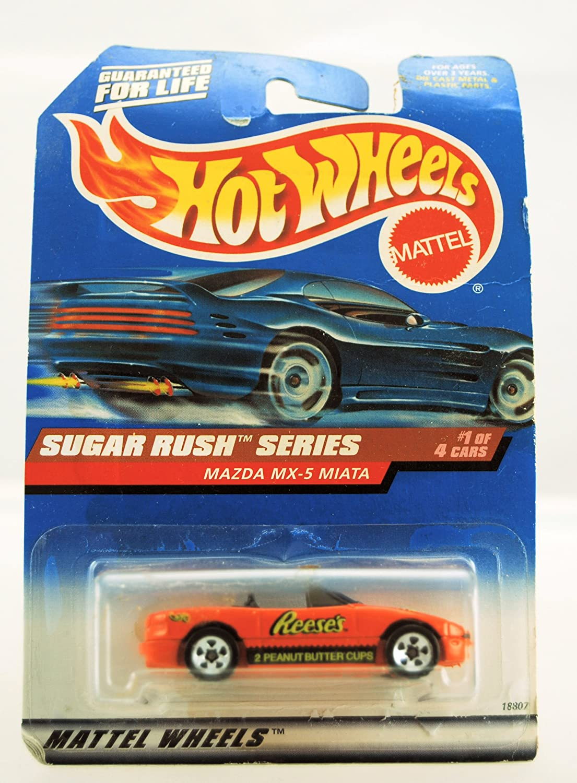 1998 Hot Wheels Mazda MX-5 Miata Sugar rush Series
