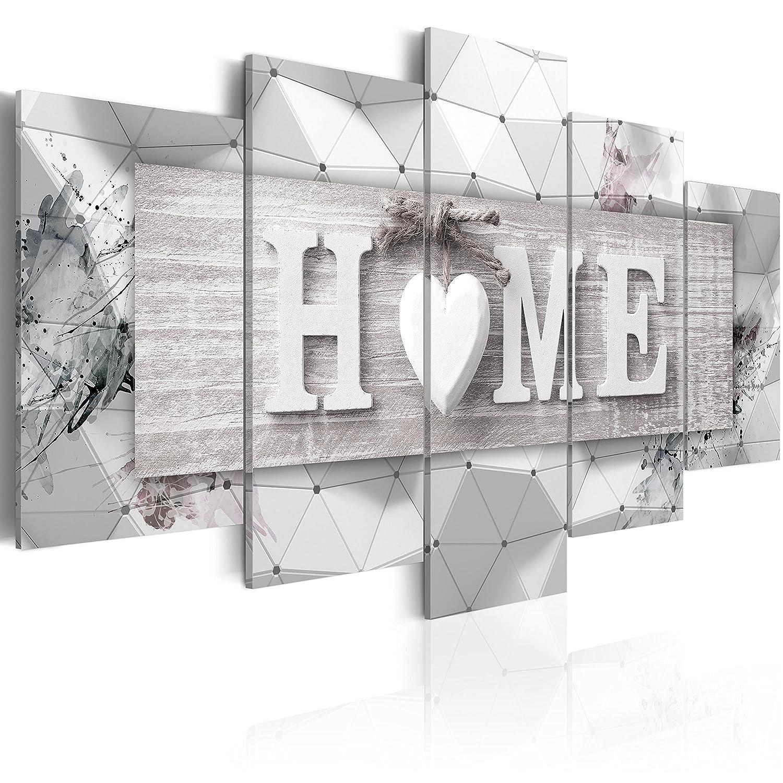 murando Quadro 100x50 cm 5 Pezzi Stampa su Tela in TNT XXL Immagini Moderni Murale Fotografia Grafica Decorazione da Parete Home Tavole 3D m-C-0251-b-n