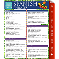 Spanish Phrases (Speedy Study Guides) (Spanish Edition)