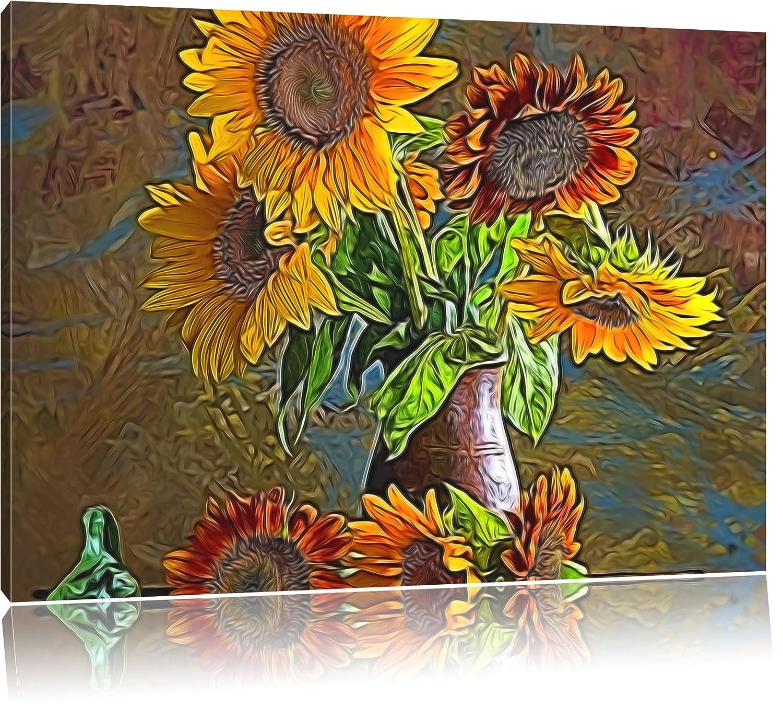 Appassito Girasole - Girasole Vecchio USA su tela 100x70cm ...
