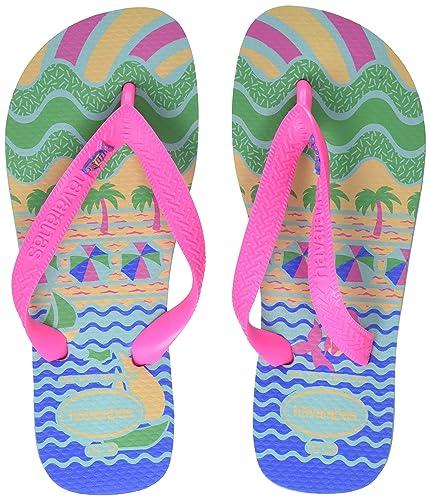 8284497b8 Havaianas Unisex Kids Fantasy Flip Flops  Amazon.co.uk  Shoes   Bags