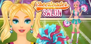 Cheerleader Salon: Spa, Makeup and Dress Up Girly Girl Makeover Games with Face Paint by Peachy Games LLC