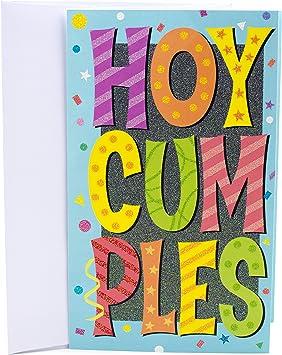 Hallmark Vida Spanish Birthday Card (Pop-Up Banner and Cake)