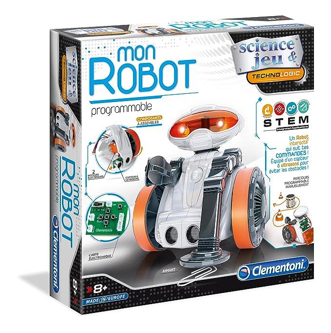 Mon Robot avec capteurs - Clementoni