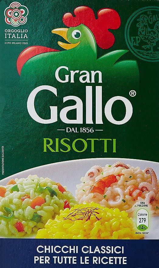 6 opinioni per Gallo- Risotti, Chicchi Classici Per Tutte Le Ricette- 1000 G