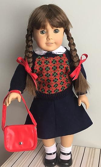 American Girl Pleasant Company Molly Navy Ribbons