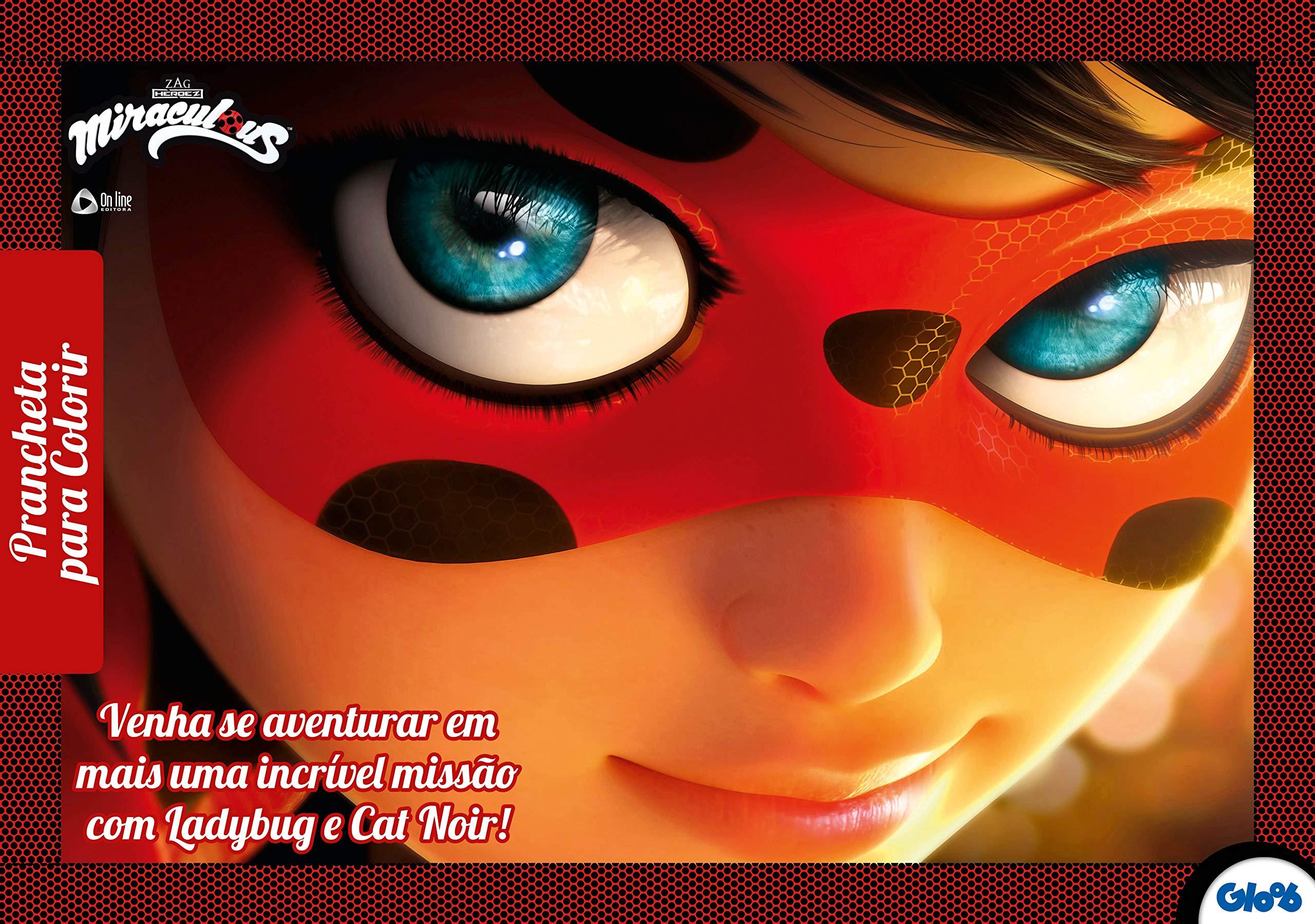 Miraculous Prancheta Para Colorir Varios Autores 9788543220840