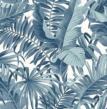 Amazon Com A Street Prints 2744 24133 Alfresco Navy Palm Leaf Wallpaper Blue Home Improvement Grandeco liane tropical wallpaper, shown here in navy. a street prints 2744 24133 alfresco navy palm leaf wallpaper blue