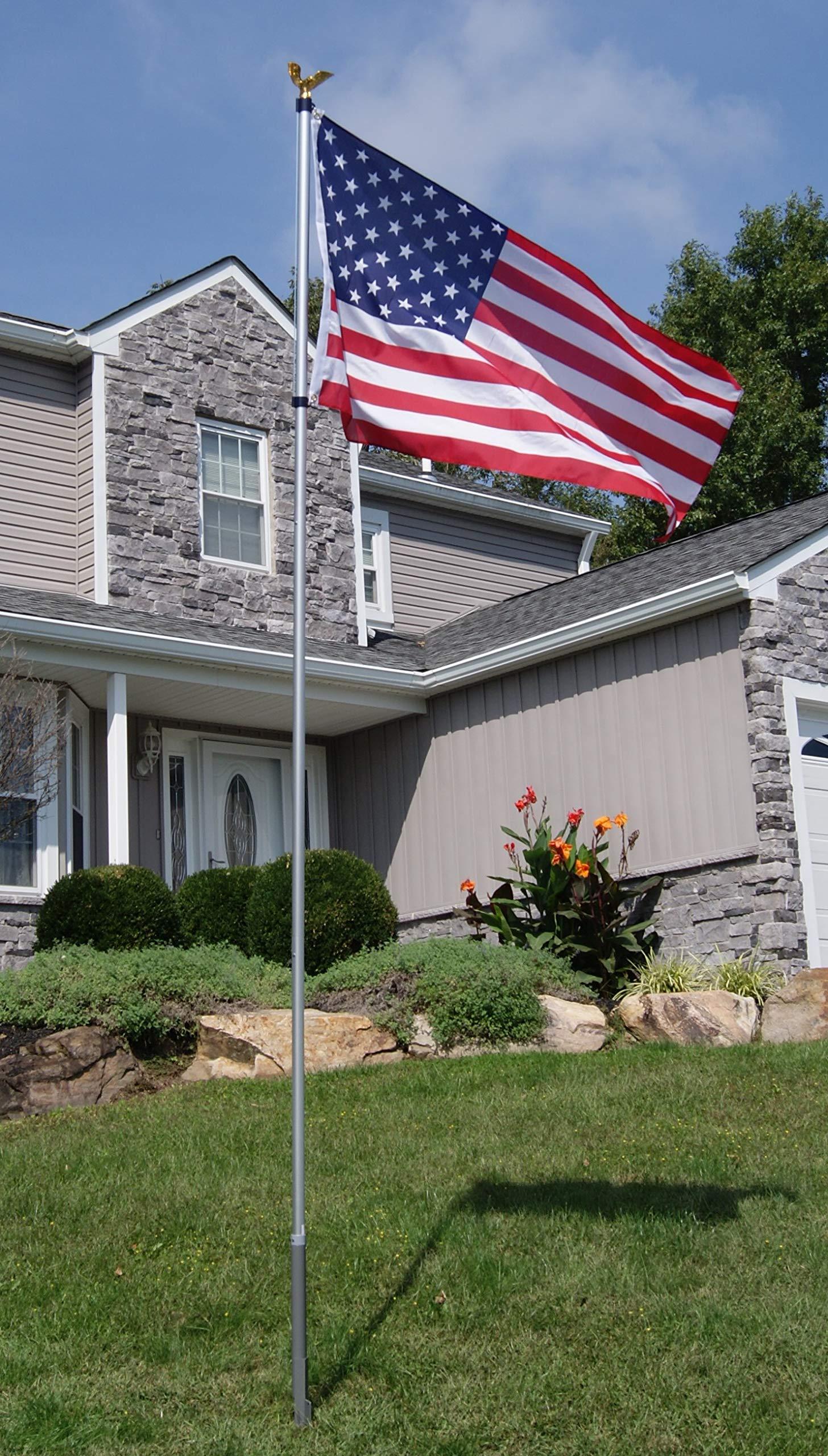 American Pride Flag/Pole Kit