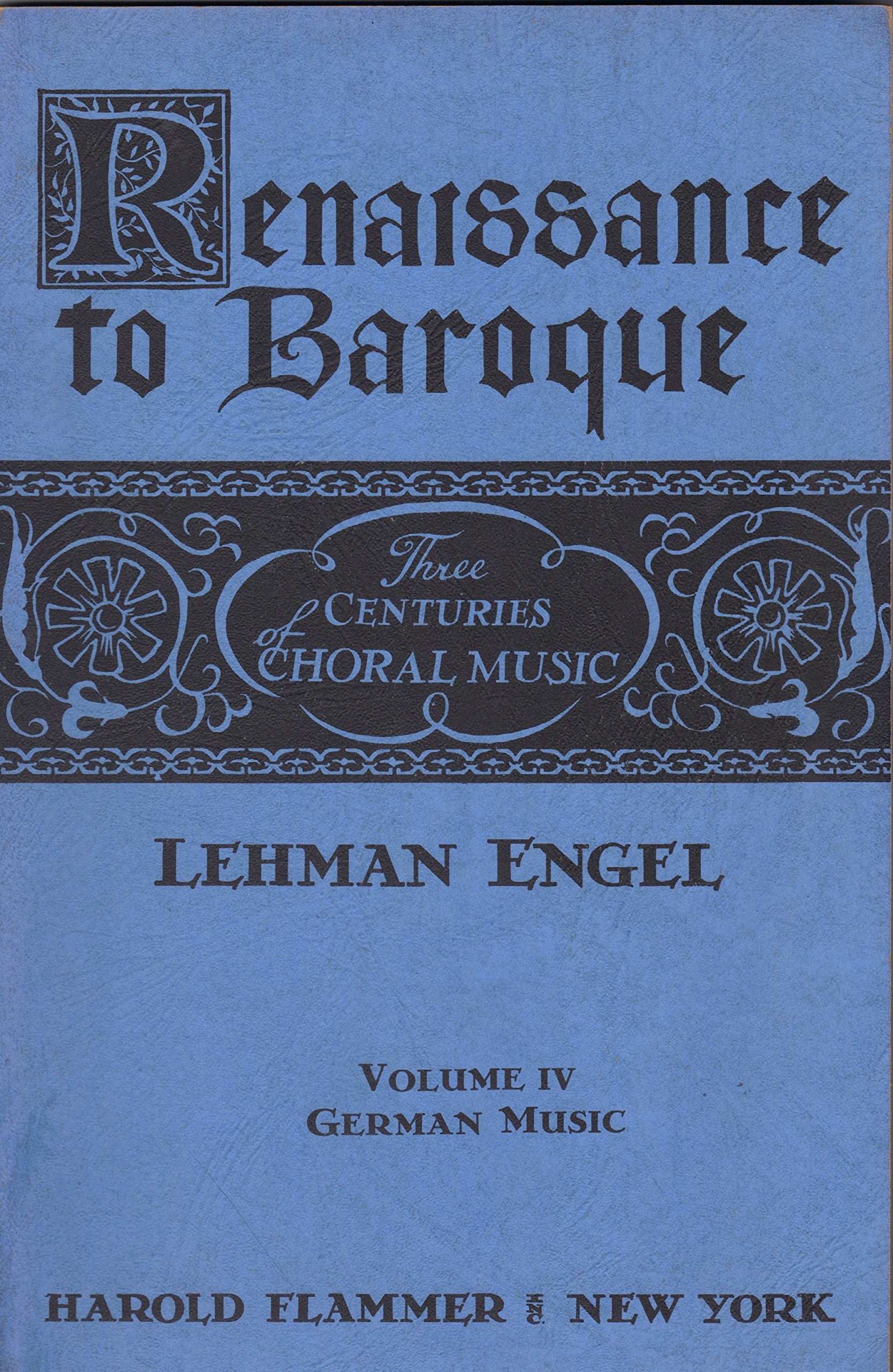three centuries of choral music renaissance to baroque vol iii english music