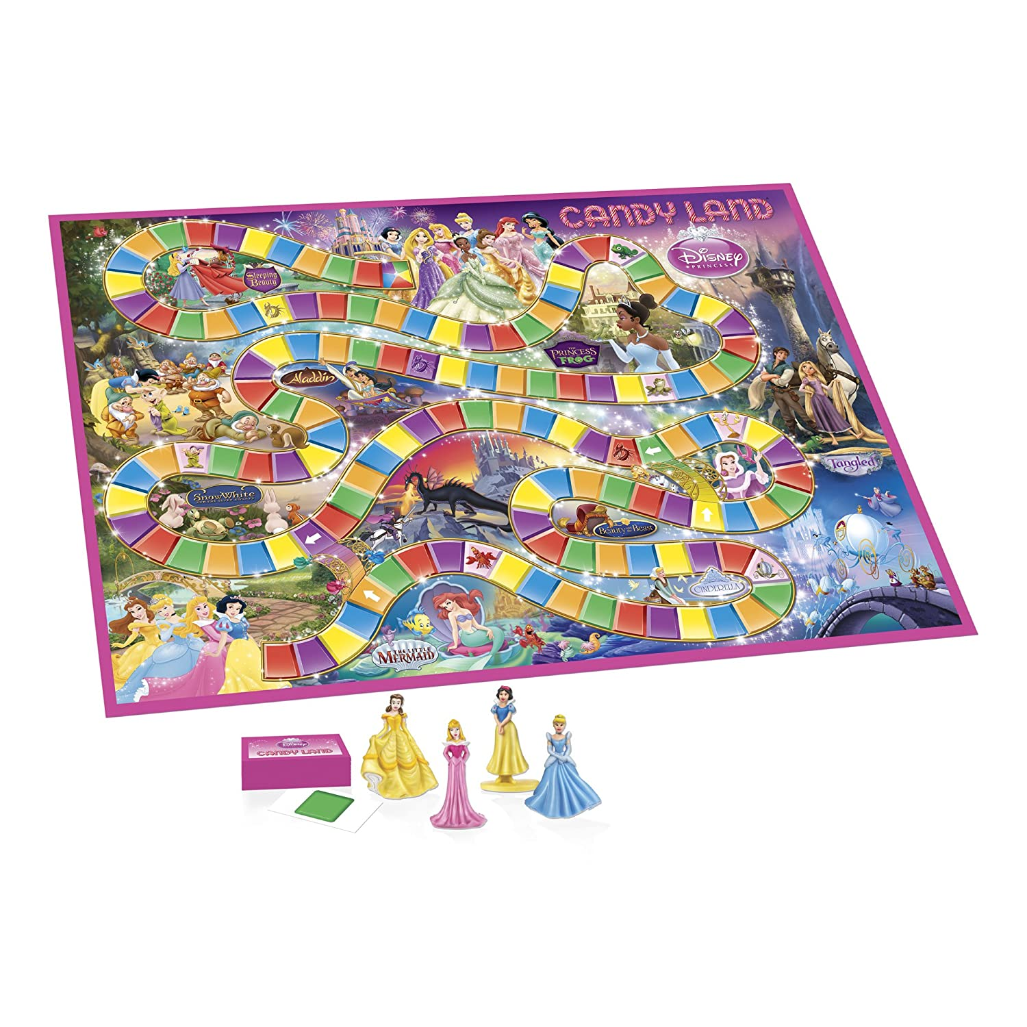 Candy Land Game Disney Princess Edition Amazon Exclusive