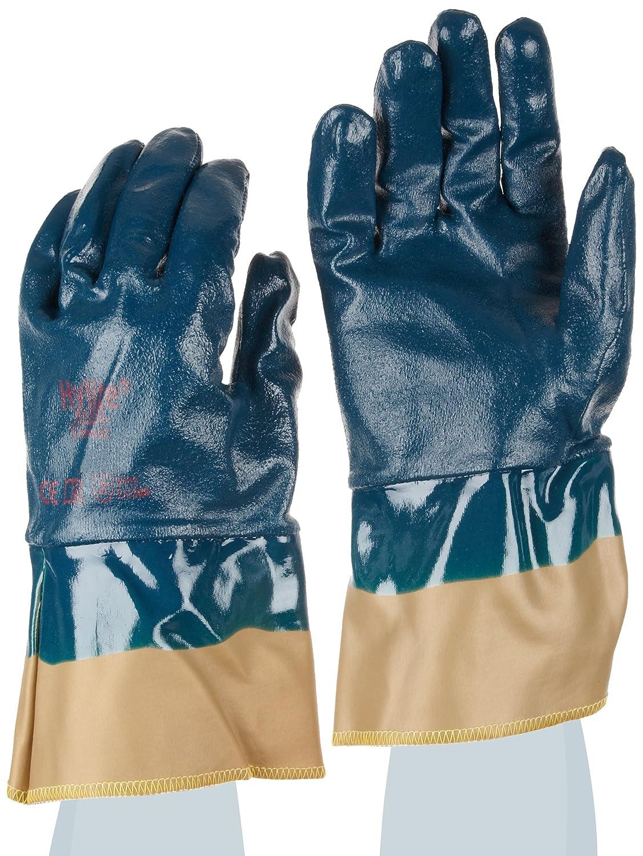 protection m/écanique Taille 7 Bleu Sachet de 12 paires Ansell Hylite 47-409 Gants pour usages multiples