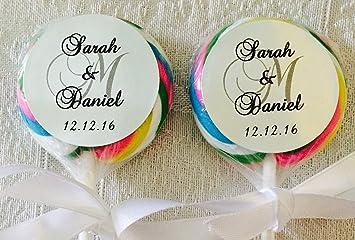 S Gl Wedding Favors | Amazon Com 210 Silver Foil Circle 1 5 Lollipop Or Favor Box Labels