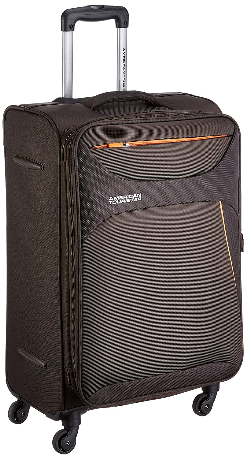 American Tourister Z-strike Polyester 56 cms Chocolate Brown
