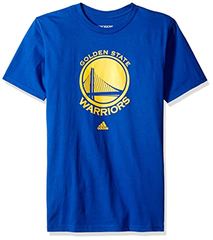 51752abe38348 adidas Golden State Warriors Royal Blue Primary Logo T-shirt T-shirt XX-