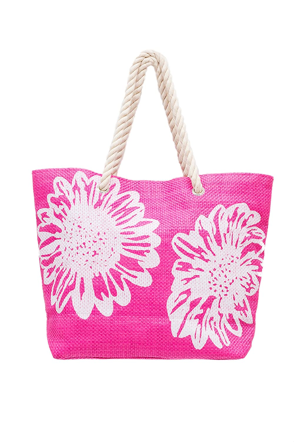 Beach Bag for Women Summer Tote Shoulder Bag Shopper for Girls Ladies 46 x 33cms