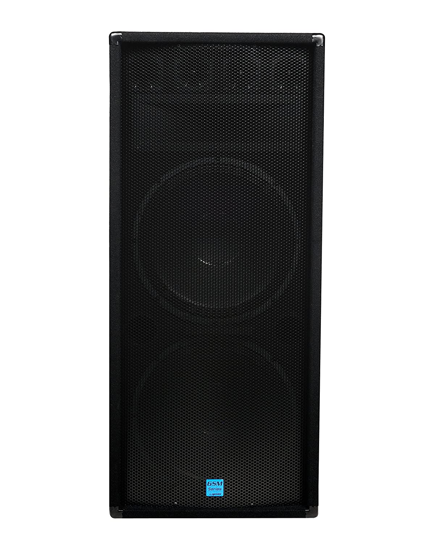Gemini GSM Series GSM-1585 Professional Audio 15-inch Woofer DJ Stage Passive Loudspeaker, 15