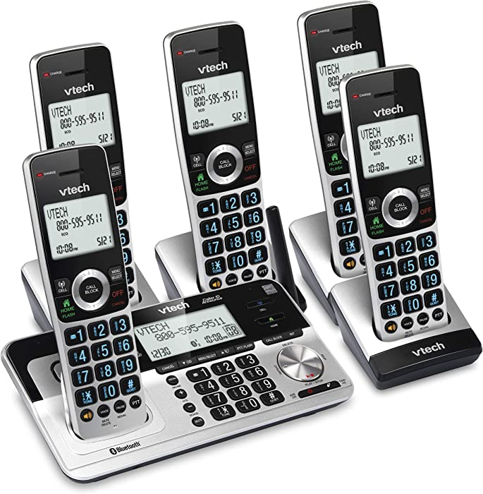 The Best Set Of 5 Portable Landline Phones For Home
