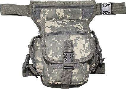 Bauchtasche SECURITY schwarz Hüfttasche Gürteltasche Hip Bag Beintasche Tasche