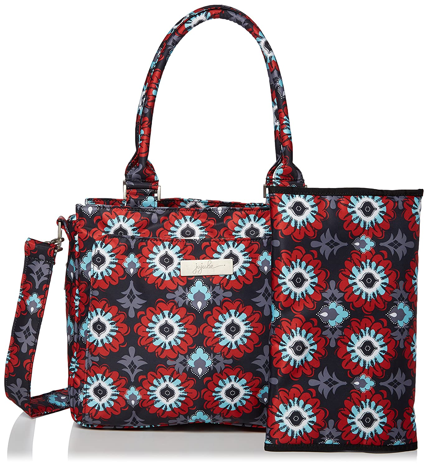 Ju-Ju-Be Be Classy Structured Handbag Diaper Bag, Sweet Scarlet, Red 15FB01A-SSC