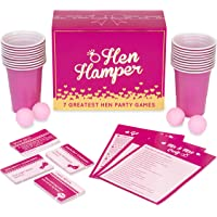Hen Hamper - 7 Greatest Hen Party Games (Bubbly Pong, Mr & Mrs, Hen Charades, I Have Never, Who Knows The Bride Best, What Am I and Truth or Dare)