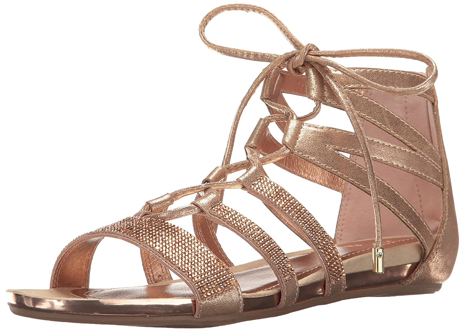Light gold Kenneth Cole REACTION Womens Lost Look 2 Gladiator Sandal