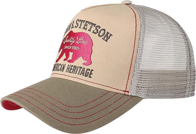 Stetson Hats - Gorra de béisbol - para Hombre Beige Beige Taille ...