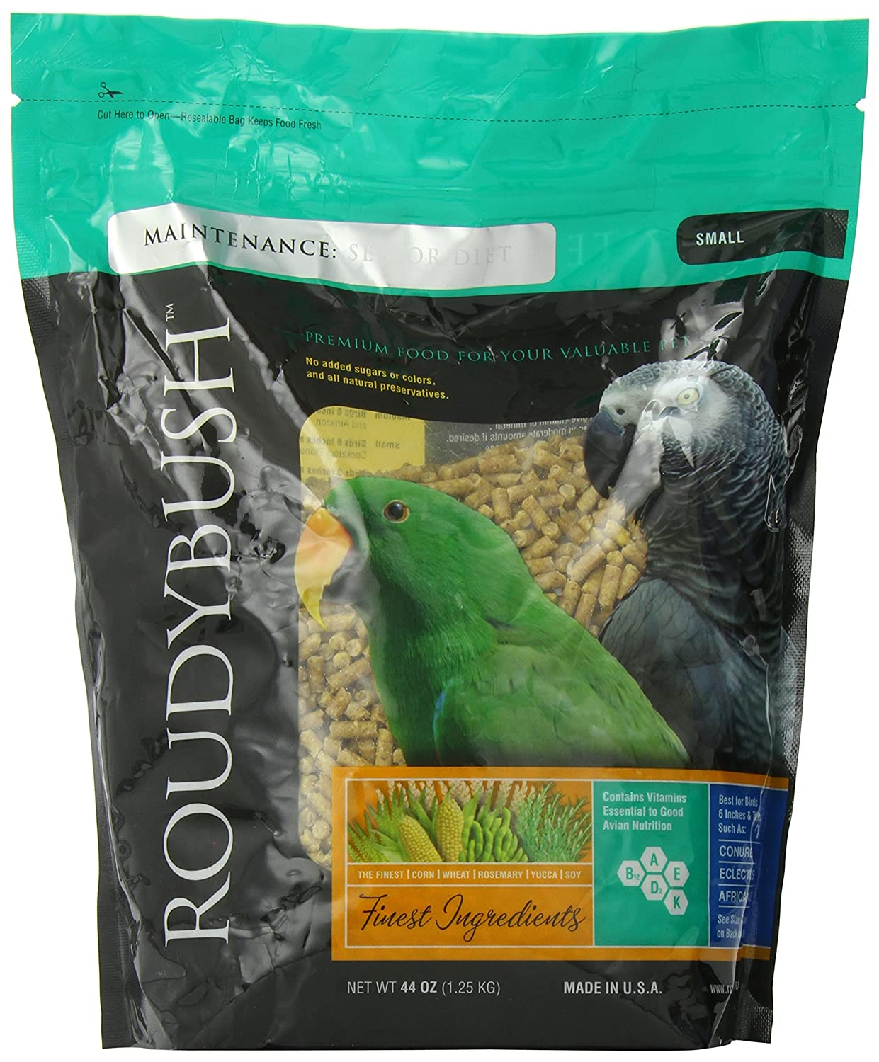 B003NTLCR0 RoudyBush Senior Diet, Small Pellets 91Tv4Qm0KjL
