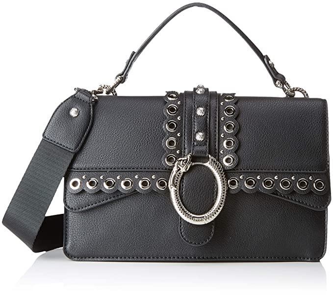 promo code 05c2f 5a037 LIU JO Darsena M Crossbody Nero: Amazon.co.uk: Shoes & Bags